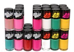 35 x Collection Work the Color Nail Polish | 7 Shade |  RRP £72 | Bulk Buy
